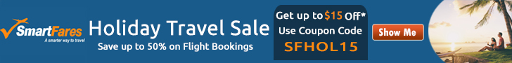 Mind-Blowing Holiday Travel Sale. Book now and get up to  off* with coupon code: SFHOL15