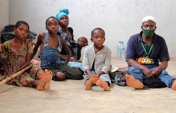 Metade dos refugiados em Pemba são crianças